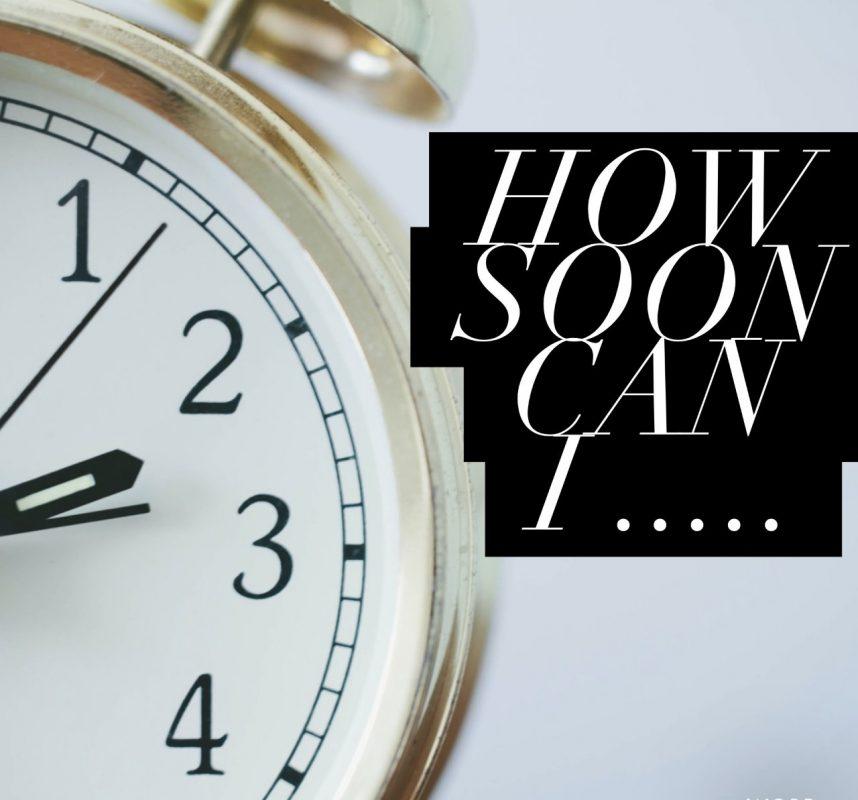 Clockface How soon