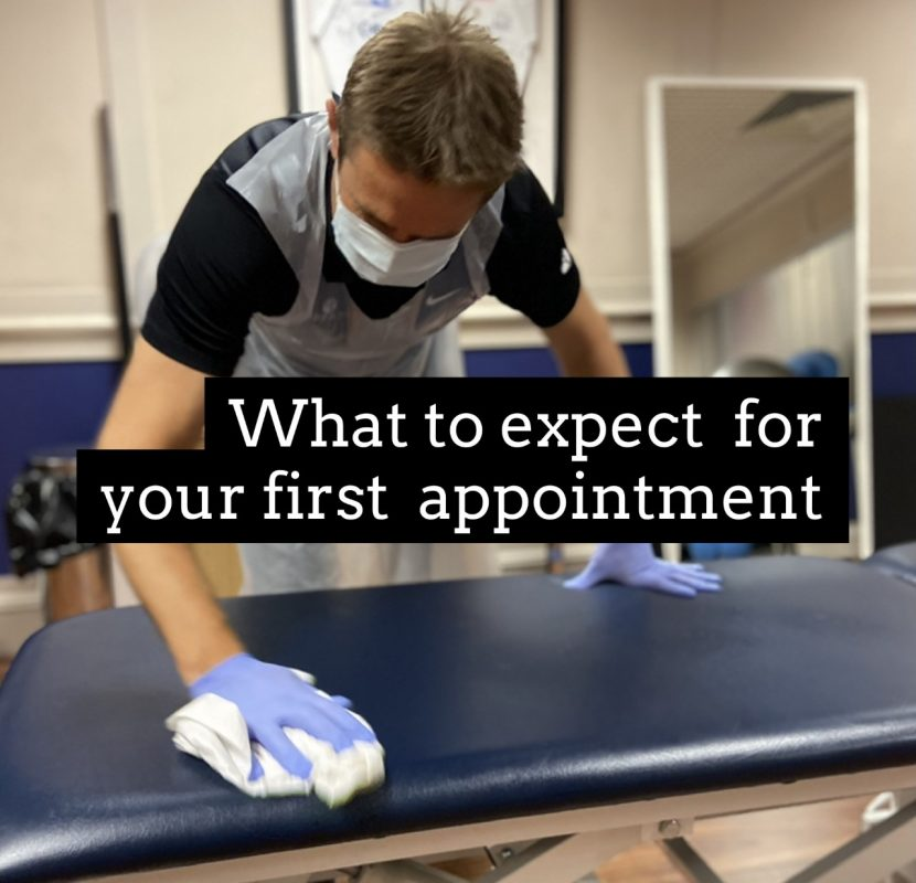 What to expect for your first appointment